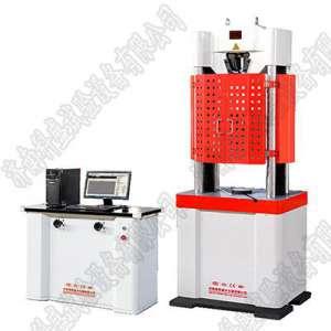 高密WAW-1000D微机控制电液伺服万能试验机